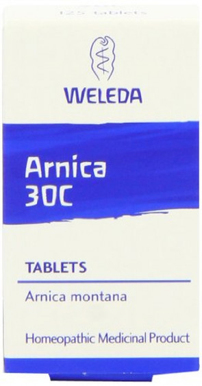 Weleda Arnica 30C - Pack of 125 Tablets