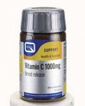 Quest Vitamin C 1000mg Timed Release 120 Tablets + 50% Extra Fill