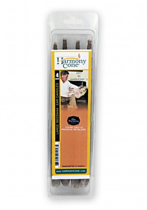Harmony Cone Beeswax Ear Candles - 4 Pack