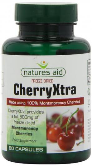 Natures Aid 500mg Cherryxtra 60 Capsules