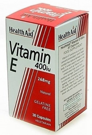 HEALTH AID VITAMIN E 400IU CAPS
