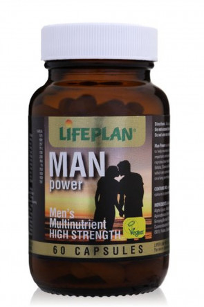 Lifeplan Man Power High Strength Multinutrient 60 Capsules
