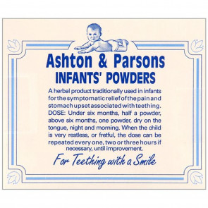 Ashton And Parsons Infant Powder 20 Sachets