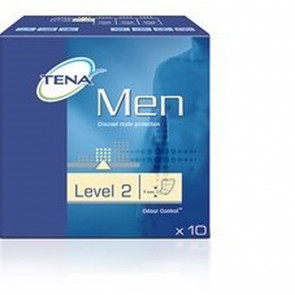 THREE PACKS of Tena For Men Level 2