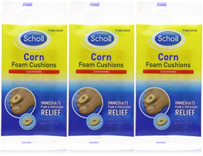 Scholl Corn Foam Cushions - three packs