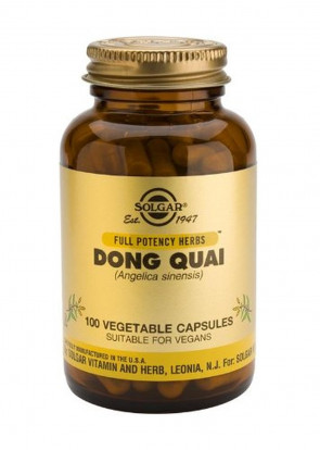 Solgar-Dong Quai Vegetable Capsules 100