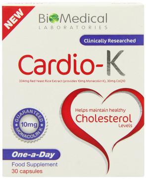 Cardio-K Cholestrol Manage - Pack of 30 Capsules