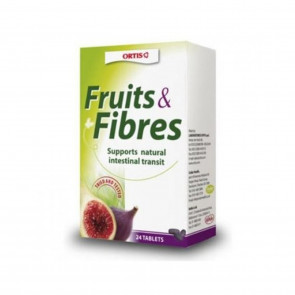 Ortis Fruits & Fibre Cubes 24 Cubes (Pack of 6 )