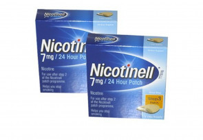 Nicotinell Nicotine Patch TTS10 7mg- Step 3 - 7 Days Supply - PACK OF 2