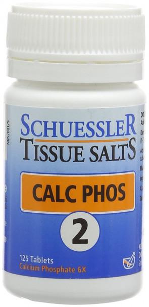 Schuessler Calc Phos Tablets - Pack of 125