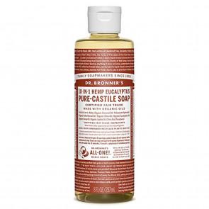 Dr Bronner Eucalyptus Castile Liquid Soap 236ml - DRB-0759
