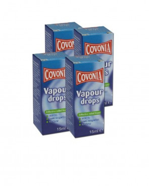 Covonia Vapour Drops 15ml - PACK OF 4