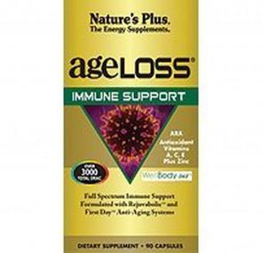 Nature's Plus AgeLoss Immune Support 90 Capsules