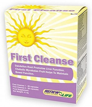 Renew Life First Cleanse - 28 Capsules