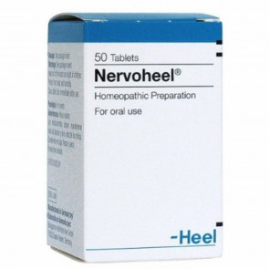 Nervoheel 50 tablets Stress Reliever & Anxiety Reliever by HEEL