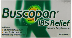 Buscopan IBS Relief Hyoscine Butylbromide 20 Tablets