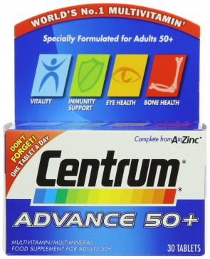 Centrum Advance 50 Plus - Pack of 30