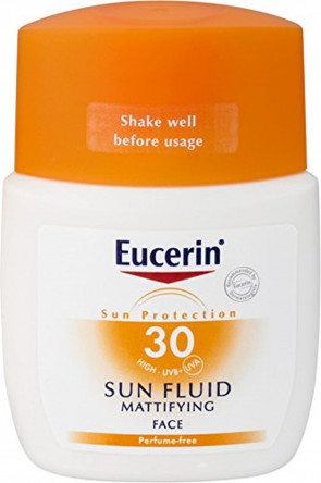 Eucerin Sun Face - Mattifying Fluid - SPF30 50ml