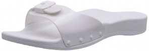 Scholl Scholl Sun White, Women's Wedge Heels Sandals, White (white), 6.5 UK (40 EU)