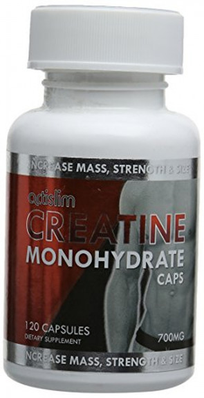 Actislim Creatine Monohydrate - Pack of 120 Caps