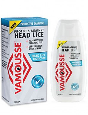 Vamousse 200 ml Head Lice Protection Shampoo