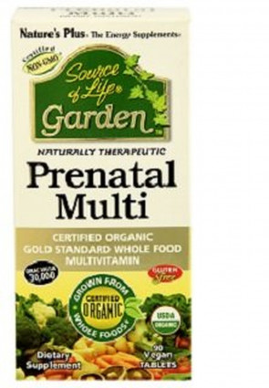 Natures Plus Source Of Life Garden Prenatal Multi (90 Vegan Tablets)