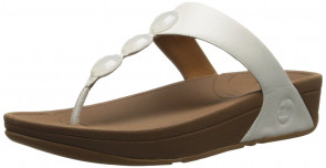 Petra Womens Leather Sandals 5.0 Urban White