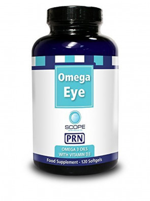PRN Omega Eye - Omega 3 Oil with Vitamin D3 Nutritional Supplement (120 Softgels)