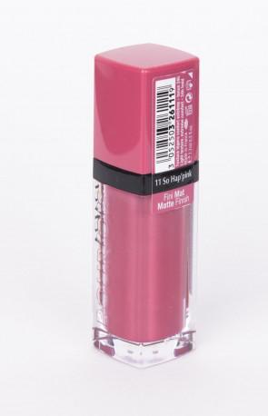 Bourjois Rouge Edition Velvet Matte Lipstick Number 11, So Hap Pink