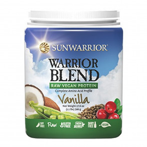Sunwarrior 500 g Vanilla Warrior Blend Protein