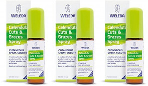 (3 PACK) - Weleda - Calendula Cuts & Grazes Spray | 20ml | 3 PACK BUNDLE