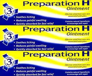 Preparation H Ointment 25g x 3 Packs