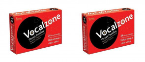 (2 PACK) - Vocalzone Vocalzone Throat Pastille Tablets | 24s | 2 PACK - SUPER SAVER - SAVE MONEY