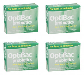 (4 PACK) - Optibac Optibac - For Those On Antibiotic Capsules | 10s | 4 PACK - SUPER SAVER - SAVE MONEY