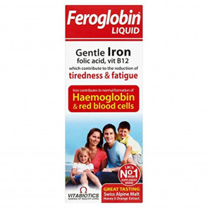 (2 PACK) - Vitabiotics Feroglobin B12 Liquid | 200ml | 2 PACK - SUPER SAVER -...