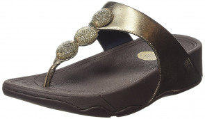 Fitflop Petra (sugar), Women's  Sandals, Brown (Bronze 012), 7 UK (41 EU)