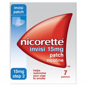 Nicorette Invisi 15mg Patch Four Pack