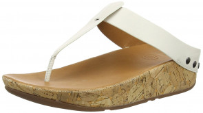 Fitflop Women's Ibiza Cork  Sandals, White (Urban White 194), 7 UK 41 EU