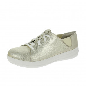 FitFlop F-Sporty Lace-Up Sneakers Gold UK7 Gold