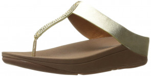 FitFlop Barrio Sandals Pale Gold UK7 Pale Gold