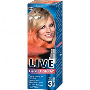 Schwarzkopf Live Pastel Spray Apricot Sunrise 125ml