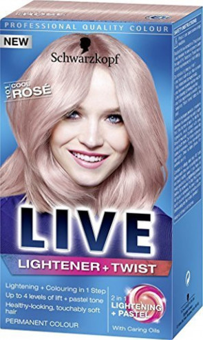 Schwarzkopf Live Lightener +Twist 101Cool Rose