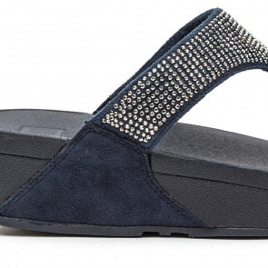 Fitflop Women's Slinky Rokkit Post Open-Toe Sandals, Blue (Supernavy), 6 UK 39 EU