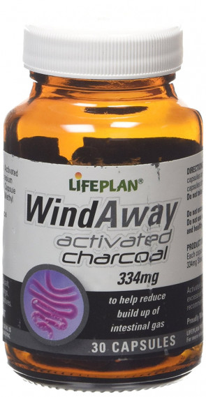 Lifeplan WindAway Activated Charcoal 30 Capsule