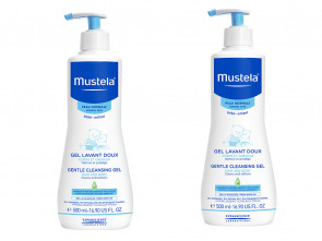 Mustela Bebe Double Pack Gentle Cleansing Gel 500ml