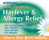 GALPHARM Loratadine 10mg Hayfever and Allergy Relief One-a-Day Tablets 14's